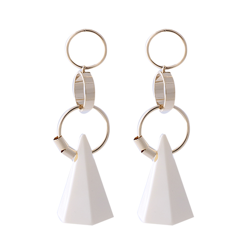 Ethnic Pyramid Earrings/에스닉 피라미드 귀걸이