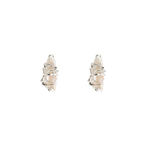 Antique Fresh-Water Pearl Post Earrings/앤틱 담수진주 포스트 귀걸이