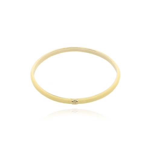 Yellow Glossy Color Bangle/옐로우 글로시 컬러 뱅글