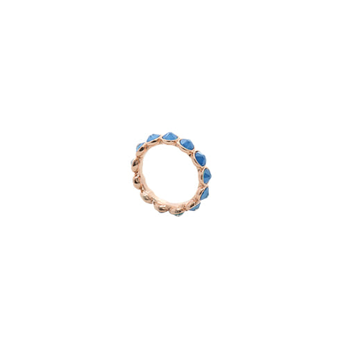 [Swarovski Crystal] Neon Blue Color Crystal Ring/네온 블루 컬러 크리스탈 반지