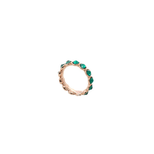 [Swarovski Crystal] Neon Green Color Crystal Ring/네온 그린 컬러 크리스탈 반지