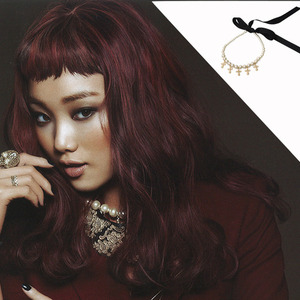 Ceci 12월호 [Pearl & Cross Pendant Necklace]