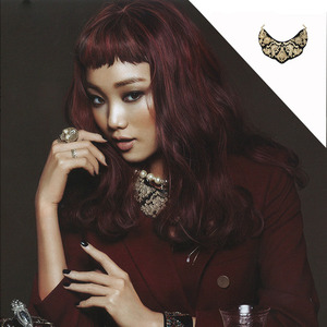 Ceci 12월호[Byzantine Feeling Embossed Necklace]