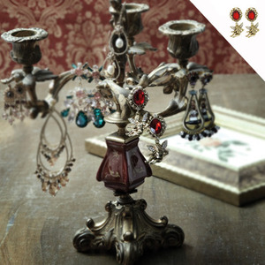 매거진 Wedding21[Drop Style Antique Angel Earrings]